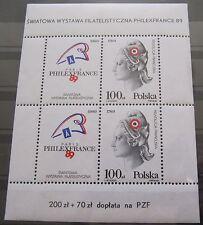 Polska / Polen Block 108 (3204) Philexfrance 89 Postfrisch