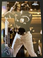 2020 Topps Chrome Sepia Refractor Luis Robert RC Chicago White Sox 60 (PC)