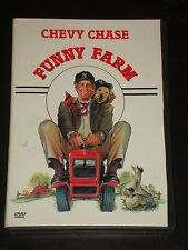 DvD movie Funny Farm, Chevy Chase, Madolyn Smith, George Roy Hill, 1988 RARE