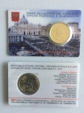 Original  Vatikan 50 Cent Coin Card 2015 - Nr. 6