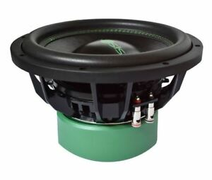 "Ipnosis Ipb 1202 Sub Subwoofer Audio Sp L 12"" 1600W Doble Bobina 2+ 2 Ohm Coche"