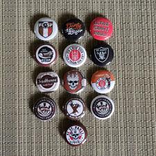 13 Ultras FC St. Pauli / Derbysieg /  Buttons / Pins / Badges / 1 Inch / 25 mm