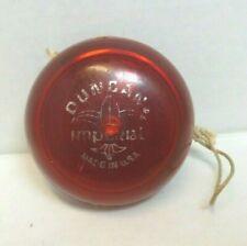 Vintage DUNCAN IMPERIAL YO YO Bright Red (YoYo)