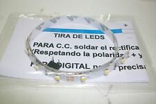 HO TIRA DE LEDS - Blanco calido, tira fraccionable (cada 3 leds) de 30 cm. long.