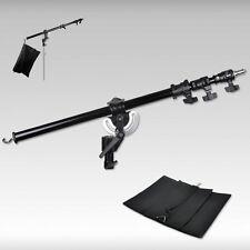 Metal Heavy Duty Photography Studio Boom Arm with Grip Head Clamp And Sandba