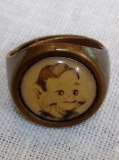 Vintage Brass HOWDY DOODY Ring