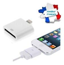 Câble Adaptateur Chargeur Lightning 30 pin vers 8 pin Apple iPhone / iPad / iPod