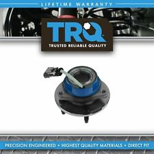 TRQ Driver or Passenger Front Rear Wheel Hub and Bearing Assembly w/ ABS Sensor