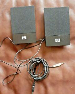 HP H-204B USB Powered Speakers Volume Control 3.5mm Jack