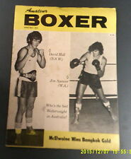 Amateur Boxer April May 1979 - David Hall, Jim Spencer, McElwaine