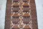 Afghan Hand Made War Rug Showing tanks and weapons.(100% hill sheep wool)