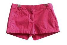 J CREW Wm's size 4 Broken-In  Chino Short 100% Cotton Fuchsia Style 61456