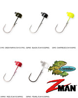 Z-MAN Jigheads Finesse Shroomz 1/10oz (FJH110) NED Rig Pick Any 5 Colors