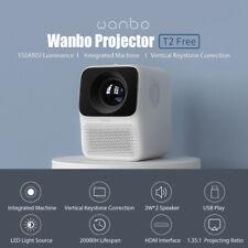 Wanbo Projektor T2 Kostenlos 1080P 150ANSI 40-120inch Tragbarer Heimkino-Beamer