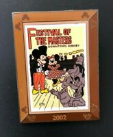 disney trading pin limited edition festival of the masters vintage movie poster