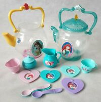 Disney Plastic Teapot Sets Little Mermaid Tea Set Beauty and the Beast Teapot