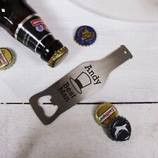 Personalised Wedding Party Bottle Opener, Best Man Gift, Wedding Part Gifts