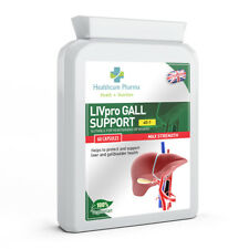 Liver and Gallbladder Detox Cleanse Support 60 Capsules Milk Thistle Alternative