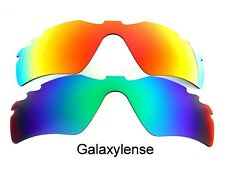 Galaxy Replacement Lenses For Oakley Radar Path Vented Green/Red Polarized