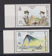 UMM MNH STAMP SET 1982 GIBRALTAR EUROPA OPERATION TORCH SG 479-480