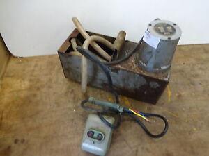 Colchester dual voltage motor coolant pump