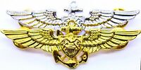 US Navy Aviation Wing Badge Naval Aviator Pilot Pin Military Insignia USN 2 PACK