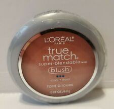 Loreal True Match Super Blendable Blush C5-6 ROSY OUTLOOK .21 W Brush & Mirror