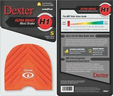 Dexter Bowling Shoes Replacement Heel H1 Orange Ultra Brakz Small
