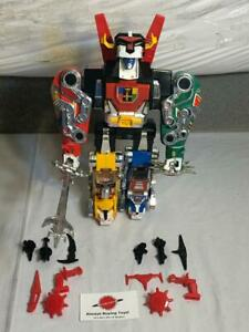 1984 Voltron Lion Complete Vintage Lions Panosh Black Red Yellow Blue Green