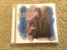 LAURENCE JUBER - ONE WING - CD - (Paul McCartney & Wings) Signed Autograph