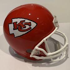 Riddell NFL Kansas City Chiefs Replica Full Size Helmet, New, Red