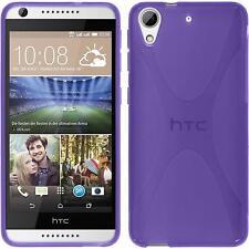 Silicone Case for HTC Desire 626 X-Style purple Case