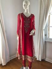 Cherry Red Pakistani/Indian Desi Outfit