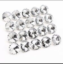 TAZEMAT 50PCS Crystal Rhinestone Buttons Sofa Decor Sewing Upholstery Buttons