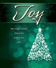Joy Tree Advent Bulletin, Large (Pkg of 50) (Counterpack, Empty)
