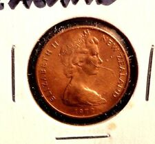 CIRCULATED 1972 2 CENT NEW ZEALAND COIN (72216)
