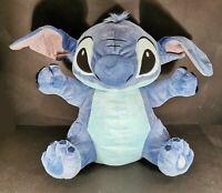 "Extra Large Disney Store Lilo & Stitch Plush Soft Toy 22"" Height Good Cond"