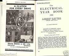 Equipment Handbook - Emmott & Company London Electrical Year Book - 1958 (E2444)