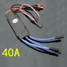 NEW 40A Brushless ESC Stable performance HM High Speed motor ESC fixed wing