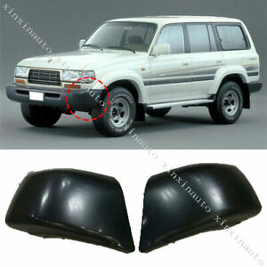 1X For Toyota Land Cruiser LC/FJ80 1996-97 Front Bumper Protection Corner Cover