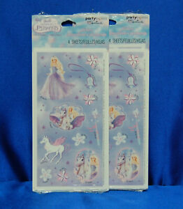 Barbie and the Magic of Pegasus Stickers Barbie Magic Pegasus Stickers SET of 2
