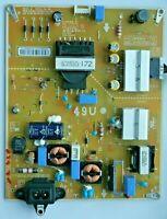 LG 49UJ651V-ZA  POWER SUPPLY BOARD LGP49DJ-17U1 EAX67189201 49U
