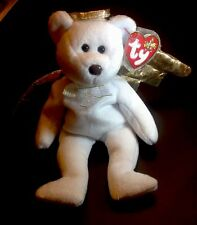 Ty Beanie Baby Babies - Halo II Bear - Retired - Rare Halo 2 Brown Nose Variant