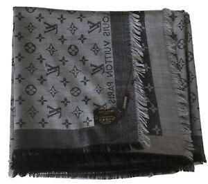 Louis Vuitton Large Monogram Shawl Silk & Wool RRP:£570