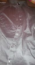 H&M No Pattern Semi Fitted Long Sleeve Women's Tops & Shirts
