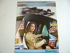 1979 Gremlin/Sega Monoco GP four side Arcade Game Original sales flyer brochure