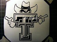 Texas Tech  Red Raiders  Logo Vinyl Decal