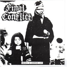 Final Conflict ‎– Death Is Certain EP  (UK Harcore Punk)