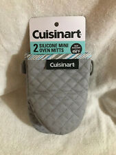 2-Pack Cuisinart Silicone Mini Oven Mitts - Brand New