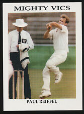 1990s Victorian Cricket Association Paul Reiffel Mighty Vics card